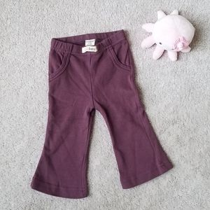 LIKE NEW L'ovedbaby Organic Sweatpants Sz 6-9 Mths